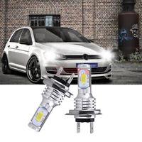 LED LAMPEN 2x H7 Auto Light 55W ABBLENDLICHT 6000K VS Xenon für VW Golf 4 5 6 7