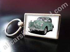 MORRIS MINOR SPLIT SCREEN METAL KEY RING. CHOOSE YOUR CAR COLOUR.