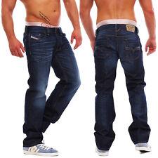 Diesel Jeans Larkee 0073N Herren Hose Regular Straight dunkelblau NEU