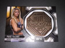 UFC Chronicles 2015 Victorious Debut Medallion Card Of Paige VanZant.