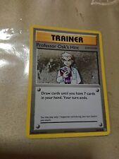 Professor Oak's Hint Pokemon Card UNCOMMON Trainer [Evolutions]