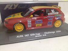 FLY ALFA 147 GTA CUP CHALLENGE 2004 Jaromir Jirik REF 88197  SLOT CAR  SCX