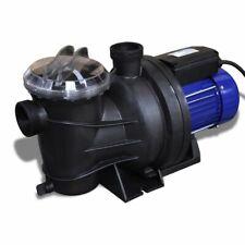 vidaXL Pompe Electrique de Piscine 800 W Bleu  Pompe de Filtration Bassin