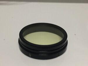 LEICA Leitz UV/ Gelbfilter 0 Filter For Summitar 5 Cm - 1027