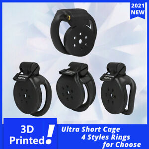 Small Lock Cage 3D Printed Cobra/Mamba/Snake/HT-V4 Male Custom Chastity Device