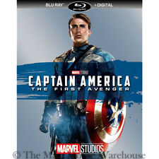 Marvel Cinematic Universe Captain America 1 First Avenger Blu-ray & Digital Copy
