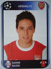 Panini 491 Samir Nasri Arsenal FC UEFA CL 2010/11