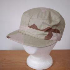 US Military Army Desert Camo Uniform Cotton Nylon Blend Uniform Hat Mens 7 1/4