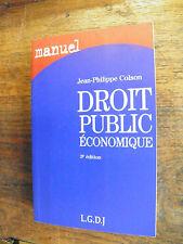 Droit public économique / Jean-Philippe Colson