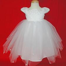 NWT Girl White Ballerina Wedding Communion Dress 6X