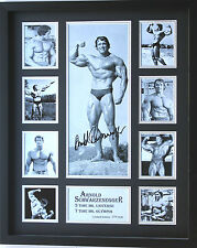 New Arnold Schwarzenegger Signed Limited Edition Memorabilia