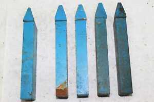 5x HM - Keilnutdrehmeißel - 32x20 mm - Nenngröße 14&17 - 32° & 36° - HS - NEU