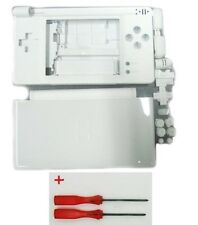 Replacement White Housing Shell kit for DS Lite, NDSL DSL Casing Repair Part