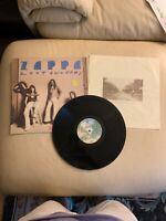 Zoot Allures Frank Zappa Vinyl LP 1976 Warner Bros Records BS 2970 VG+