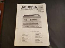 Original Service Manual Grundig R 400 CC 420/430