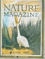 Nature Magazine March 1926 VG No ML 020917jhe