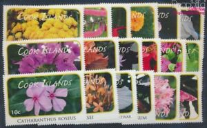Cookinseln 1618-1635 MNH 2010 clear brands: Plants (8610135