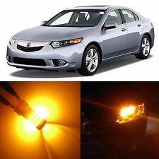 Alla Lighting Rear Turn Signal Light 7440NA Amber 12V LED Bulb for Acura TSX ZDX