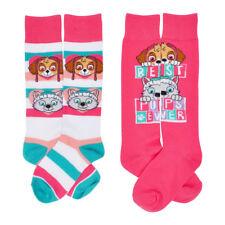 41498c7de8a 2 PAIR Paw Patrol Girls Skye Everest Kids Knee High Socks Size 6-8 SHOES