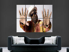 The notorious big Biggie Smalls mur Poster Art Photo Impression Grand énorme