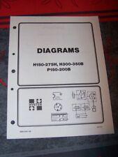 0U Manual HYSTER Electrical Diagrams H150-275H H300-350B P150-200B