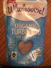 Wholesome Sweeteners Organic Turbinado Raw Cane Sugar 1.5 lbs (24 oz) Pkg