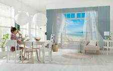 Giant size wall mural photo wallpapers MALIBU  Sea view from beach house Holiday