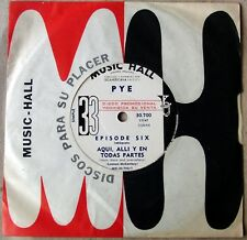 """EPISODE SIX 7"""" PROMO Here There SOUTHAMERICA Ed. UK Mod PSYCH 1966 DEEP PURPLE"""