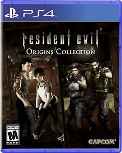 Resident Evil Origins Collection - PS4 - Brand New Factory Sealed!!!!