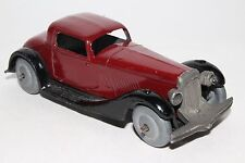 Dinky Toys #36b 1930's Bentley Coupe, Metal Wheels, Early Frame, Restored