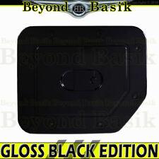 Fits 2004-2015 NISSAN TITAN GLOSS BLACK Gas Door Cover Triple ABS Fuel Overlays
