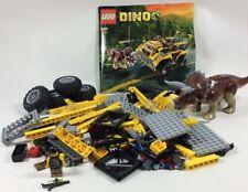 Lego Dino Triceratops Trapper Set #5885 W Instruction Manual No Box