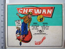 Aufkleber Sticker Chewan LaBamba Jeans Cotton (4146)