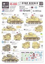 Star Decals 1/35 BRITISH M3 GRANT MEDIUM TANK IN AFRICA