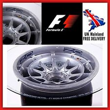 Collectible Coffee Table Red Bull F1 2013 Wheel RARE Genuine Room Home Furniture
