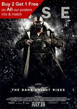 Batman The Dark Knight Rises 2012 Bane Poster A5 A4 A3 A2 A1