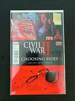CIVIL WAR II CHOOSING SIDES #6 MARVEL COMICS 2016 NM+