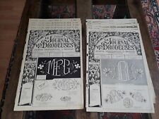 10 ANCIENS JOURNAUX LE JOURNAL DES BRODEUSES 1960 VINTAGE EMBROIDERY PATTERNS