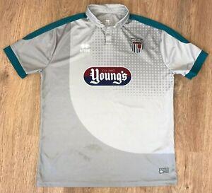 Grimsby Town 2016 - 2017 rare away third errea shirt size XXL
