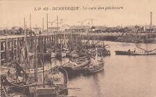 Carte postale ancienne DUNKERQUE NORD la cale des pêcheurs