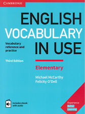 Cambridge ENGLISH VOCABULARY IN USE ELEMENTARY w Answers & Audio THIRD EDIT @New