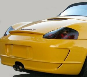 97-04 Porsche Boxster vinyl Headlight & Taillight covers tints smoked 7 pieces