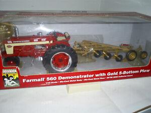 Farmall 560 Demo. W/ 5Btm Mounted Plow.