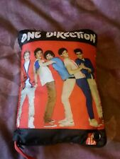 One Direction Cushion/Pillow, Zips open to reveal a small storage area