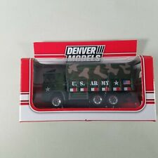 Denver Models US Army Transport Truck 279-4353 2018 New In Package