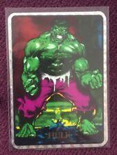 Vtg 90's Hulk Marvel Masterpieces Vending Machine Prism Sticker *Border Variant*