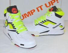 cc4269900b0 New 2013 Reebok Twilight Zone The Pump White Neon Yellow Black sz 9 Rare
