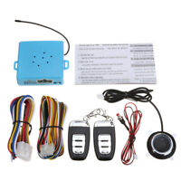 12V Car Engine Push Start Stop Button Ignition RFID Keyless Remote Starter  !