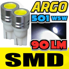 1 SMD LED XENON WHITE 501 T10 W5W SIDELIGHT BULBS BMW X1