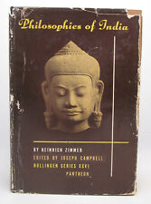 Joseph Campbell SIGNED - Philosophies of India - Heinrich Zimmer - First Edition